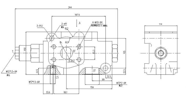 压控制系统,如叉车,轮式 装载机,轮式吊车,拖拉机 及联合收割机.